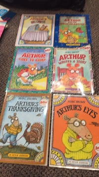 Lot of 6 Arthur books by Marc Brown. One is hard cover the baby one and it's like new. Vaughan, L4J 5L7