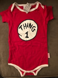 The Cat in the Hat, Thing 1, onesie + bottom West Covina, 91790