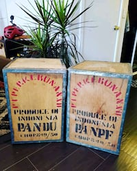 1922 Indonesia Royalty Tea Boxes