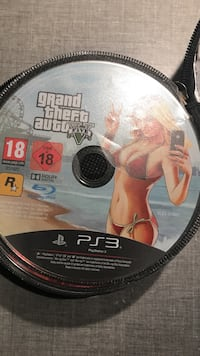 Grand Theft Auto Five PS3-spelskiva