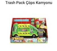 Trash pack çöp arabası