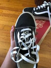 Vans Old Skool Canvas Black and white South Gate, 90280
