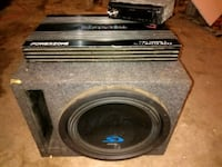Pioneer deck, amp and 12 inch sub Howard City, 49329