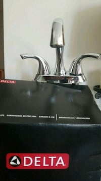 New bathroom delta faucet..chrome