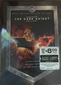 NEW in box...Limited Edition.The Dark Night trilogy DVD McHenry, 60050