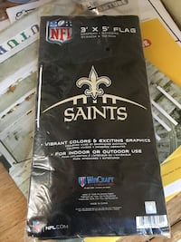 Saints flag brand new  Lockport, 70374
