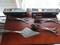 Silver plated utensils Coquitlam