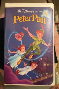Peter pan on VCR tape black diamond Media, 19063