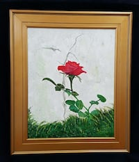 """Vintage Rose""   Original Artwork  By Shreveport Artist Shreveport, 71104"