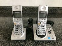 two gray Vtech wireless telephones Toronto, M2R 1N1