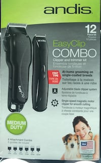 Dog Clippers Andis Easy Clip Combo