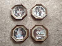 four brown wooden photo frames Central Okanagan, V4T