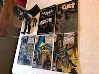 Batman comic books. A novel and action figures. Great stocking stuffer London, N5Y