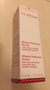 clarins mission perfection serum e 30 ml 1 0z. net wt. box Markham, L3P 3K8