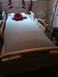 use like new hospital bed hill rom with air mattress come with it