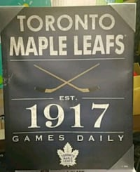 Toronto Maple Leafs 1917 poster