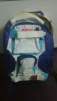 Burton-back pack-fun colours! great condition  Toronto, M9C 2B2
