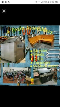 Furniture assembly and moving furniture St. Cloud