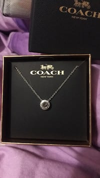 Coach necklace silver Toronto, M2H 2W6