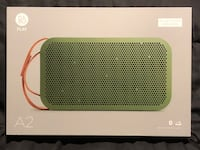 BANG AND OLUFSEN B & O A2 Portable Wireless Bluetooth Speaker LIKE NEW New York, 10010
