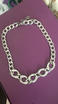 silver chain link bracelet with lobster lock Brampton, L6Y 4H5
