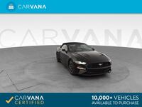 2018 Ford Mustang Convertible EcoBoost Convertible 2D Black