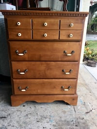 Tall Dresser/ Chest of Drawers  Sarasota, 34233
