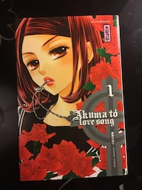 Manga : Akuma to love song tome 1 Le Vésinet, 78110