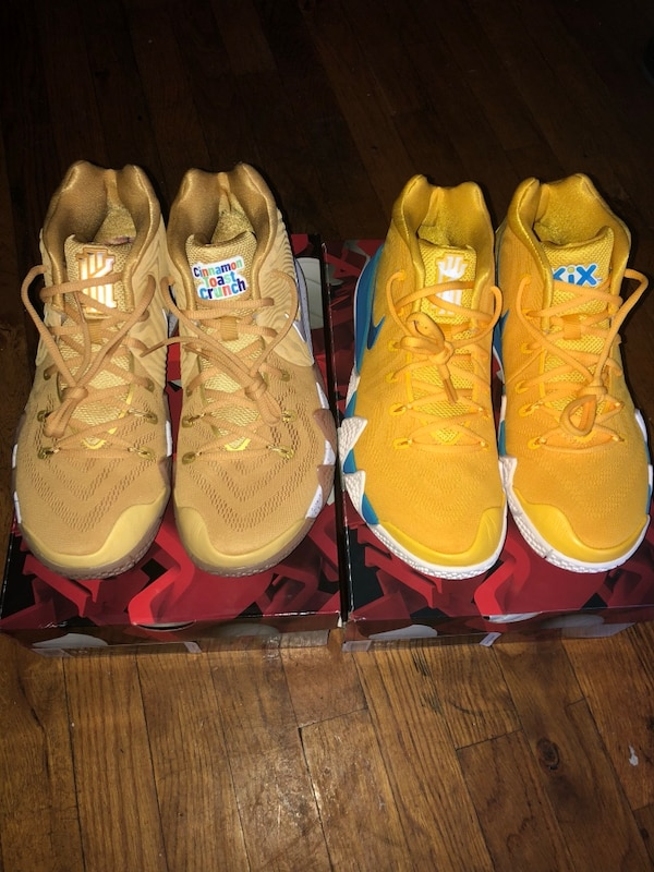6522356186c7ec Kyrie 4 Cinnamon Toast Crunch   Kix bundle pack size 10   9.5. HomeFashion  and Accessories New York
