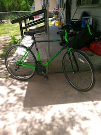 green and black road bike Edinburg, 78542