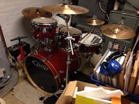 Pdp FS Series Drumset With Extras Arlington