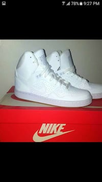 All White Nike's Brampton, L6Y