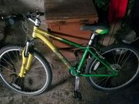 K2 T-9 green and white hardtail mountain bike Troy, 12182