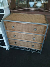 Wicker & Iron 3 Drawer Dresser Odenton, 21113