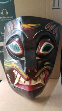 Two Hand carved masks made in mexico  Alexandria, 22311