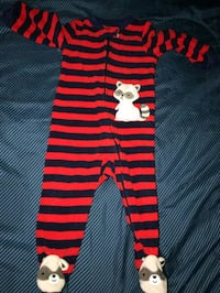 toddler's red and white stripe onesie Gaithersburg, 20878