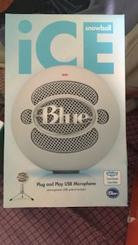 Ice snowball speaker plug and play USB microphone Boca Raton, 33428