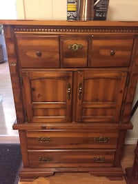 brown wooden cabinet with drawer Toronto, M2M 1P2