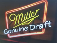 Miller Genuine Draft neon light signage West Chester Township, 45246