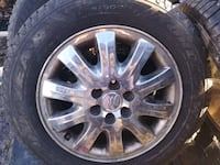 225 60 17 snow tires set of 4 with aluminum rims Mississauga, L5A 2X4