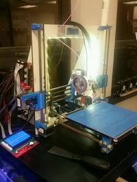 Working 3D printer w/ auto leveling and heated bed
