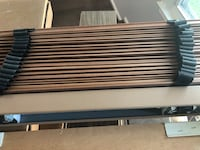 Brown wooden blinds Arlington, 22204