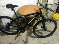 black and blue hard tail mountain bike Baltimore, 21223