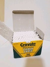 Crayola White Dustless Chalk Pickering, L1V 1B8