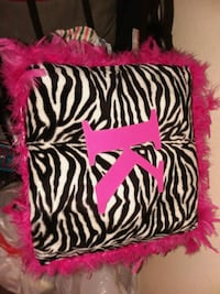 black and white zebra print throw pillow 470 mi