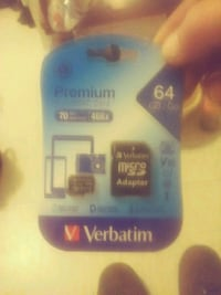 blue and black SanDisk micro-SD card Rolla, 65401