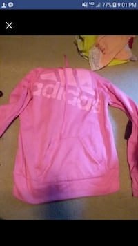 pink and white Nike pullover hoodie Ankeny