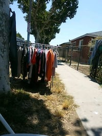 Clothes on Yard Sale. East Los Angeles, 90022