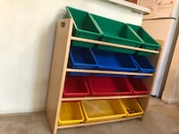 Kinds toys organizer