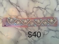 Both brand new Blush beaded belt for $40 and head piece $30 Toronto, M5V 3Y3